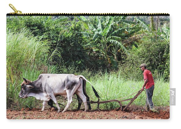 A Cuban Tractor Carry-all Pouch