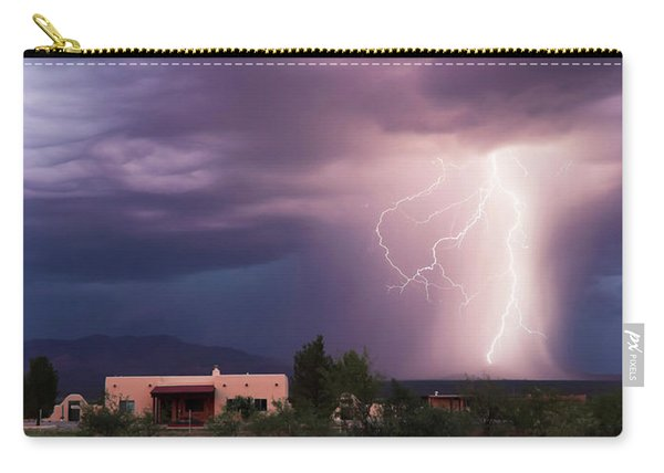 A Dance Of Lightning In The Foothills Carry-all Pouch