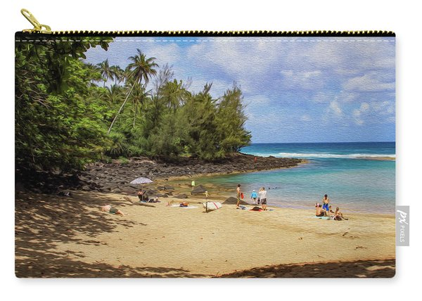 A Day At Ke'e Beach Carry-all Pouch