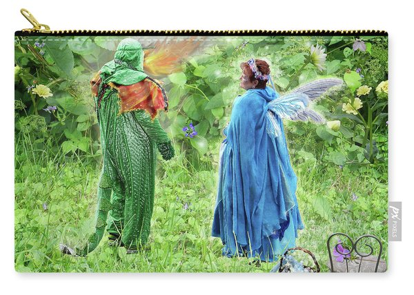 A Dragon Confides In A Fairy Carry-all Pouch
