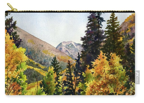 A Drive In The Mountains Carry-all Pouch