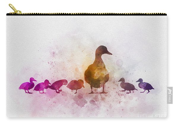 A Family Of Ducks Carry-all Pouch