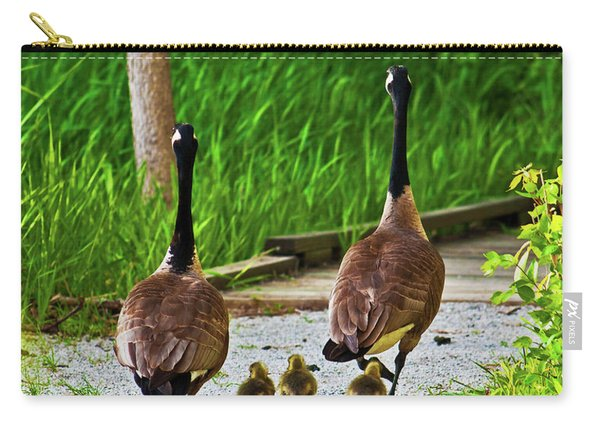 A Family Stroll Carry-all Pouch