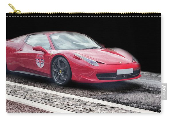 A Ferrari's Speed Carry-all Pouch