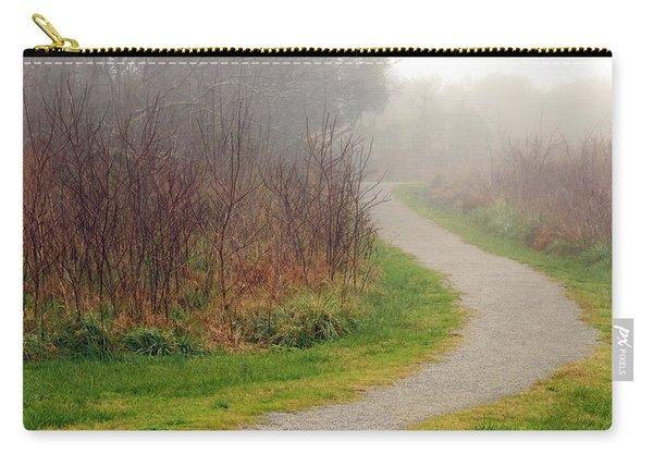 A Foggy Path Carry-all Pouch