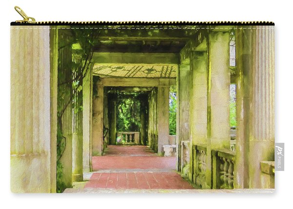 A Garden House Entryway. Carry-all Pouch