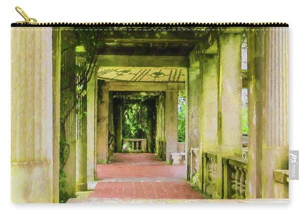 A Garden House Entryway. Carry-all Pouch