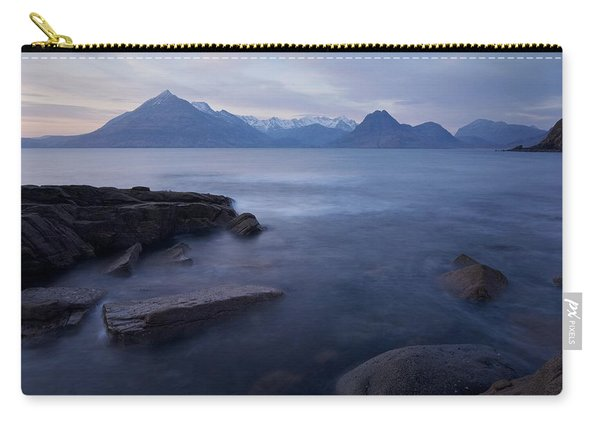 A Gentle Sunset At Elgol  Carry-all Pouch