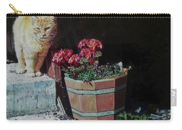 A Gift Of Geraniums Carry-all Pouch