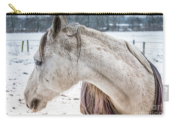 A Girlfriend Of The Horse Amigo Carry-all Pouch
