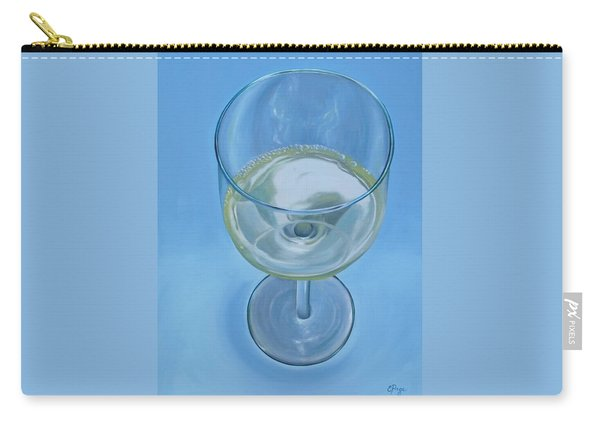 A Glass Of Wine Is Fine Carry-all Pouch