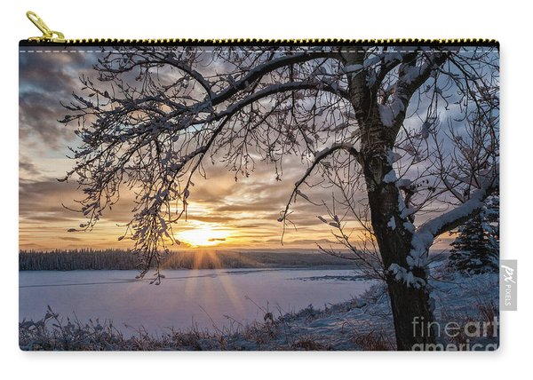 A Glenmore Sunset Carry-all Pouch