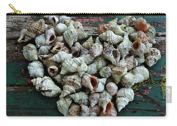 A Heart Made Of Shells Carry-all Pouch