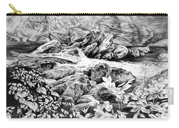 A Hiker's View - Landscape Print Carry-all Pouch