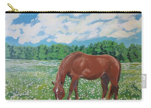 A Horse Named Dante Carry-all Pouch