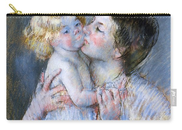 A Kiss For Baby Anne Carry-all Pouch