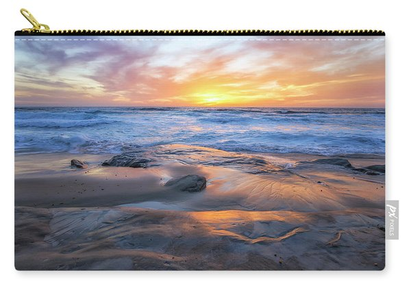 A La Jolla Sunset #1 Carry-all Pouch