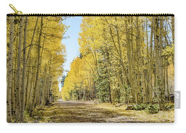 A Lane Of Gold Carry-all Pouch
