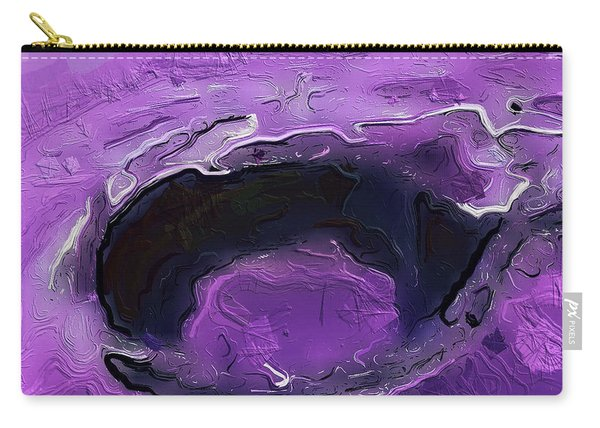 A Lifeless Planet Purple Carry-all Pouch