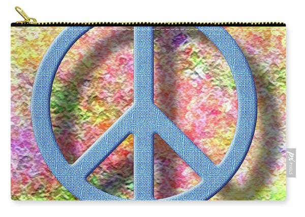 A Little Peace Carry-all Pouch