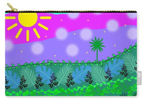A Little Whimsy Carry-all Pouch