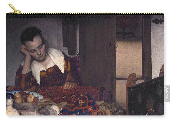 A Maid Asleep  Carry-all Pouch