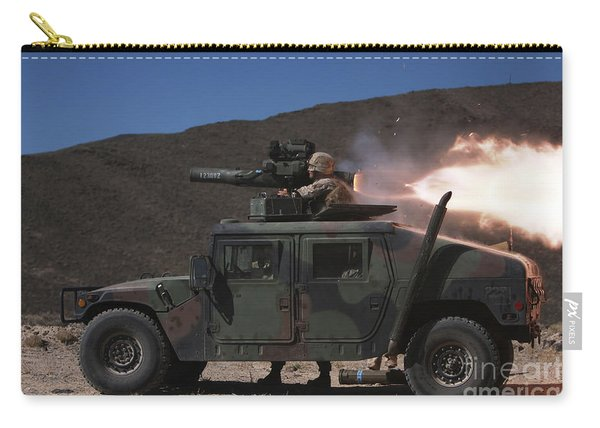 A Missileman Firing A Bgm-71 Tow Carry-all Pouch