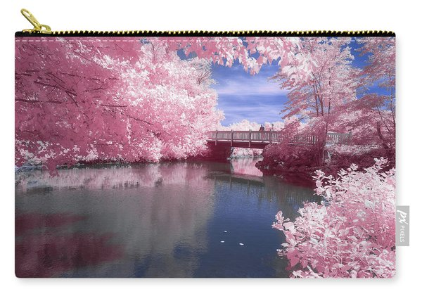 Carry-all Pouch featuring the photograph A Moment To Reflect by Brian Hale
