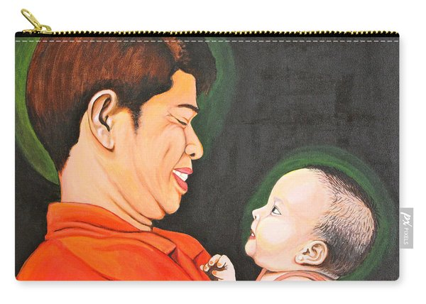 A Moment With Dad Carry-all Pouch