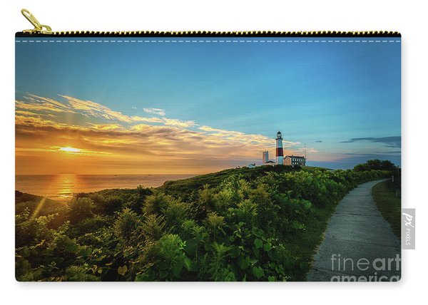A Montauk Lighthouse Sunrise Carry-all Pouch
