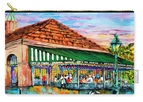 A Morning At Cafe Du Monde Carry-all Pouch