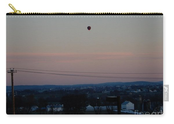 A Morning Hot Air Balloon Ride Carry-all Pouch
