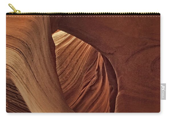 A Natural Abstract Dist Carry-all Pouch