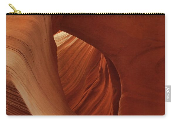 A Natural Abstract Carry-all Pouch