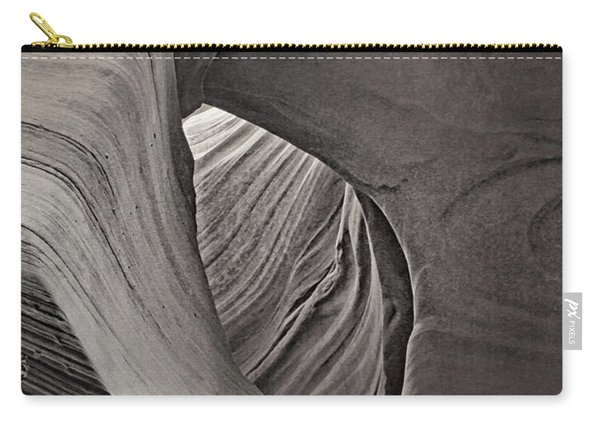 A Natural Abstract Tnt Carry-all Pouch