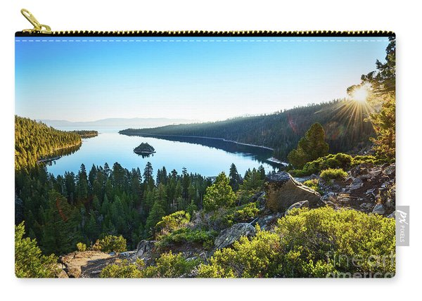 A New Day Over Emerald Bay Carry-all Pouch