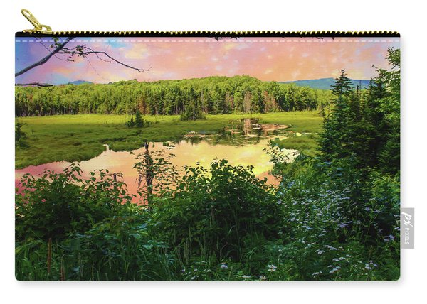 A New England Bog. Carry-all Pouch
