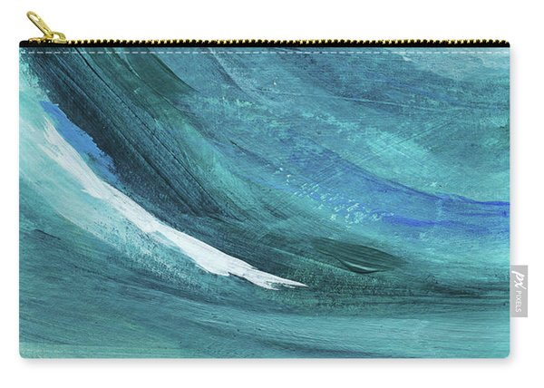 A New Start- Art By Linda Woods Carry-all Pouch