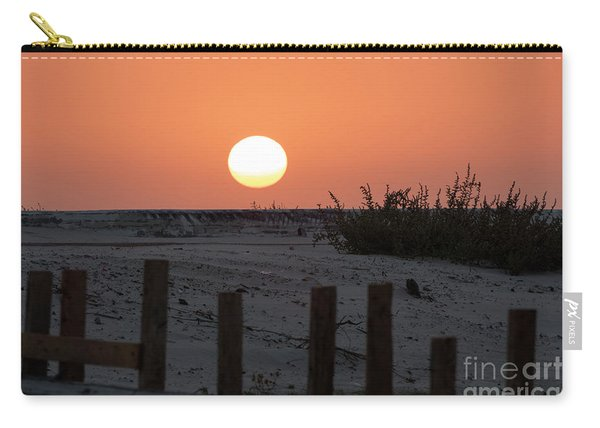 A November Sunset Scene Carry-all Pouch
