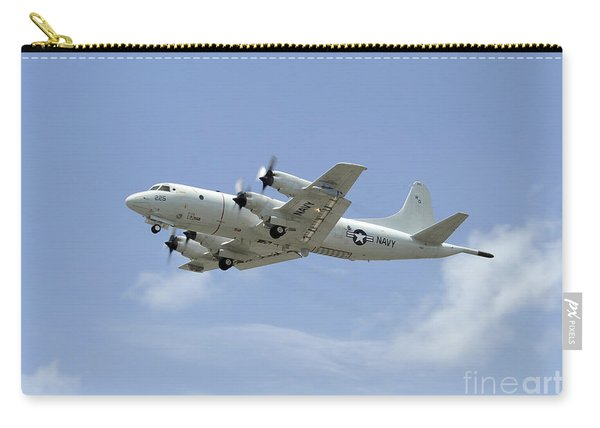 A P-3c Orion Aircraft Takes Carry-all Pouch