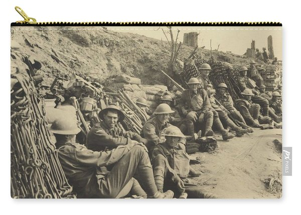 A Party Of The 6th Brigade With Material For Constructing Wire Entanglements, During The Battle Of M Carry-all Pouch