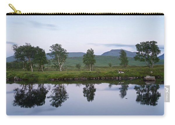 A Pastel Sky Over Loch Ba Carry-all Pouch