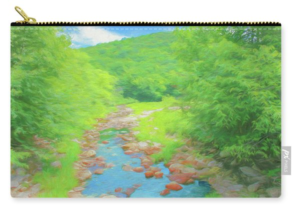 A Peaceful Summer Day In Southern Vermont. Carry-all Pouch