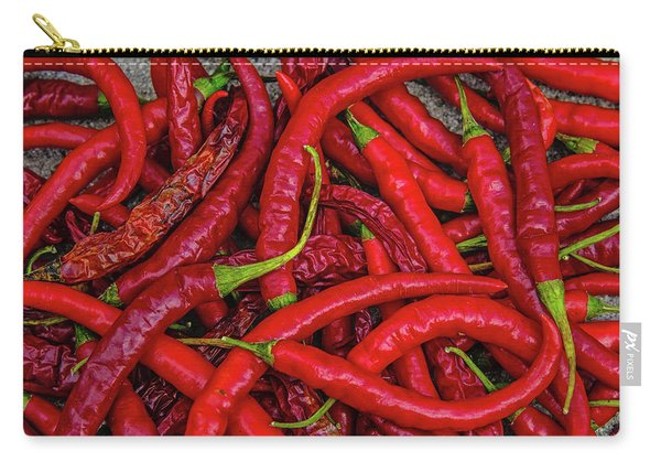 A Peck Of Unpickled Peppers Carry-all Pouch