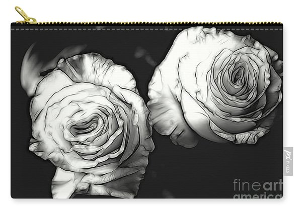 A Perfect Pair Bw Carry-all Pouch