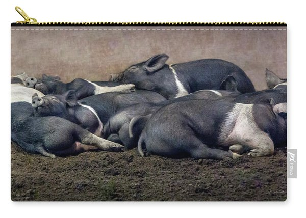 A Pile Of Pampered Piglets Carry-all Pouch