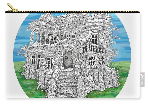 House Of Secrets Carry-all Pouch