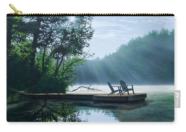 A Place To Ponder Carry-all Pouch