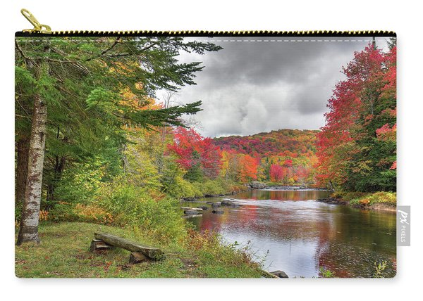 A Place To View Autumn Carry-all Pouch