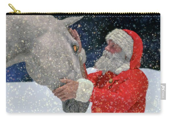 A Present For Santa Carry-all Pouch